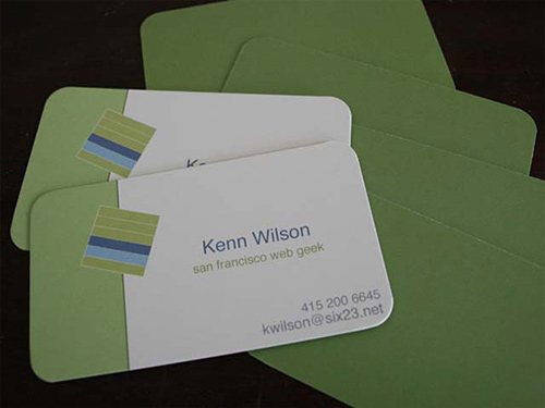 business cards kenn-wilson