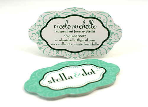 stella dot die cut