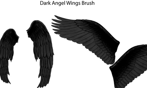 brushes PS dark wings