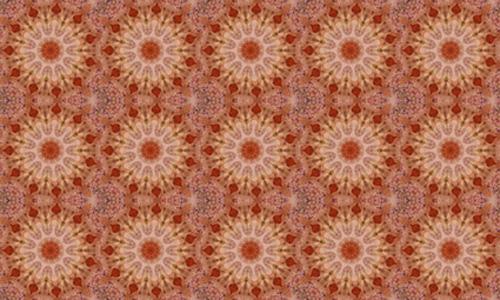 Floral Brown 1