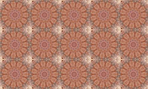 Floral Brown 2