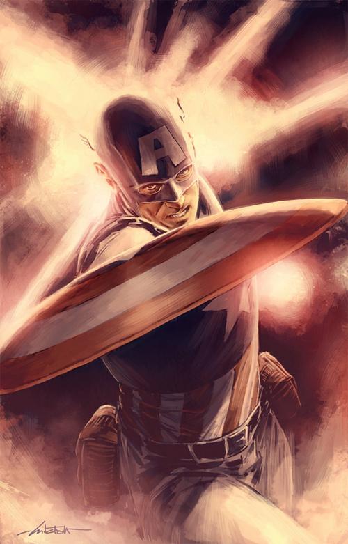 Captain America 107