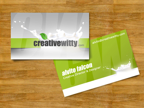 CreativeWitty Business Card