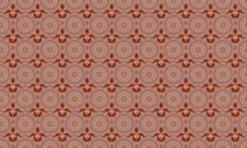 Floral Brown 3