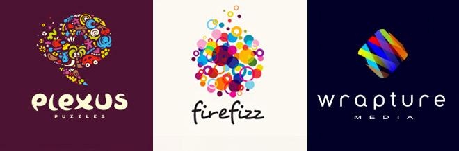 35 Attention Grasping Multicolor Logo Designs