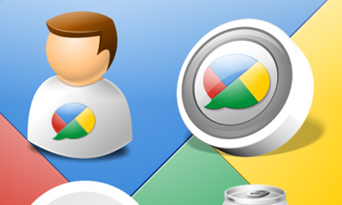 Google Buzz Icon Kit