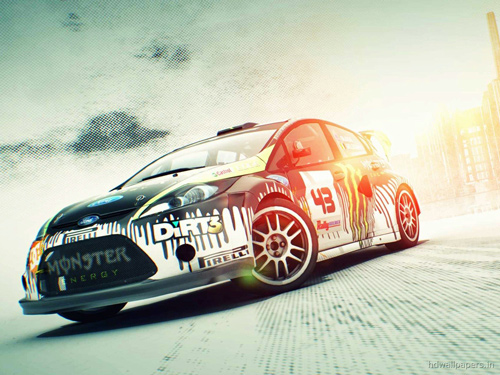 Dirt3 Racing Car