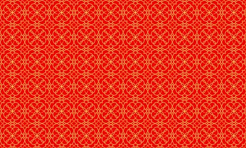 Simple Red Pattern
