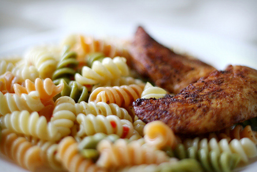 Pasta and Chicken