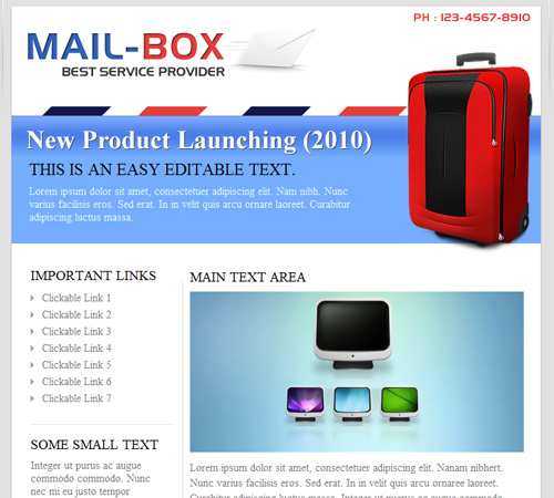mailbox email template
