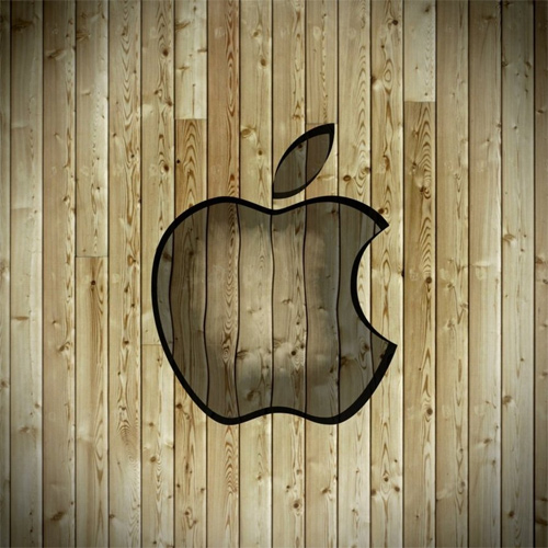 Colorful Wooden Apple