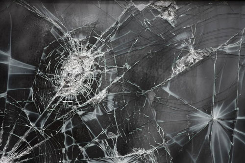 Cracked Glass Texture