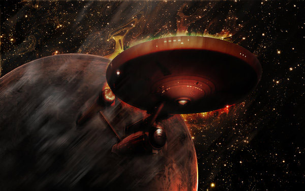 Amazing Star Trek Galaxy Wallpaper