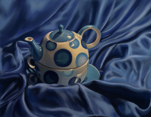 simply teapot still life artwork