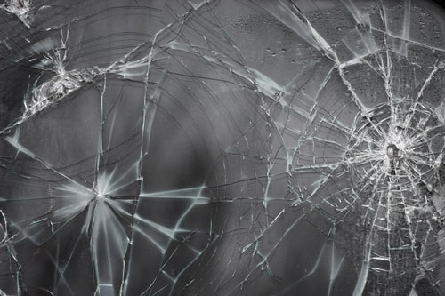 Nice Cracked Glass Texture
