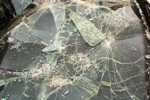 Cool Broken Glass Texture