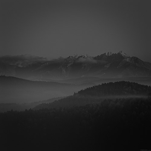 mountain dark ipad