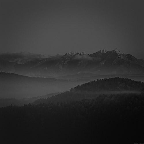mountain dark ipad