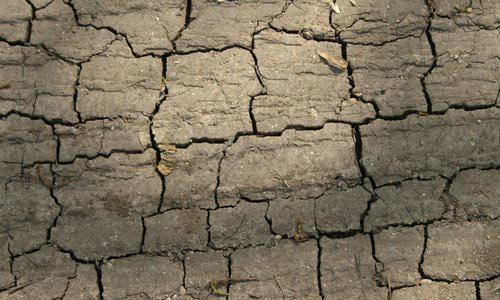 very amazing cracked ground texture