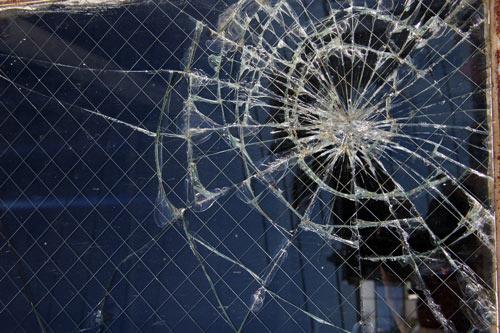 cool broken glass texture