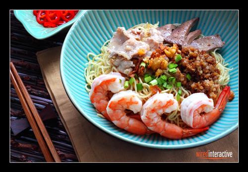 Seafood Kolok Mee