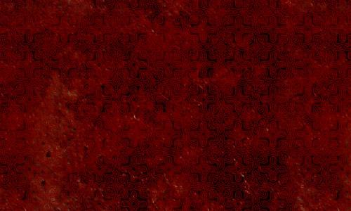 Rust Red Pattern