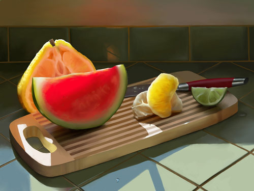 nice digital still life