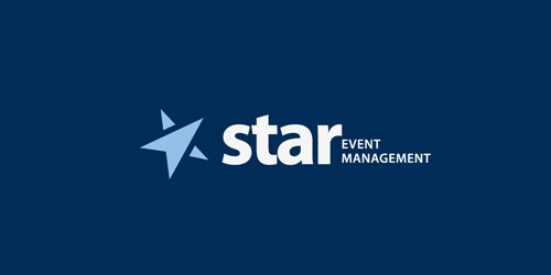 star event management logo design
