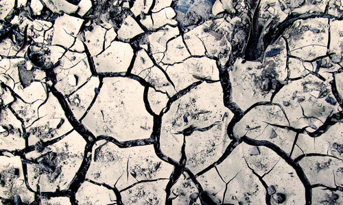 Cool Cracked Ground Texture