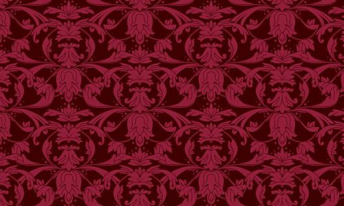 Eerie Red Pattern