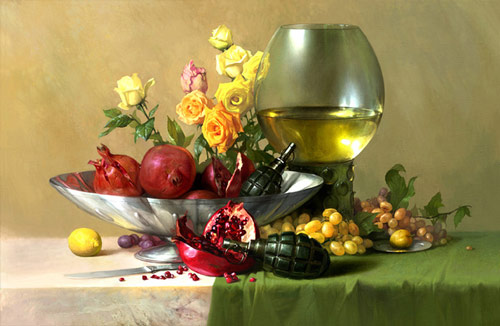 cool still life artwork