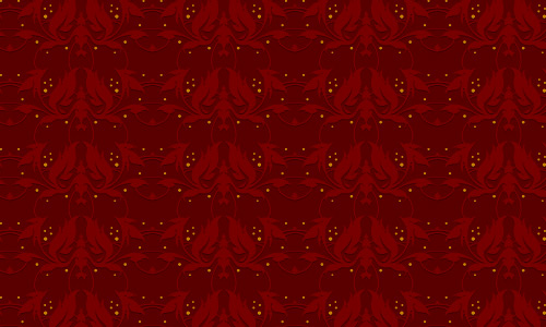 Devilish Red Pattern