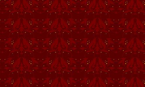 Devilish Red Pattern