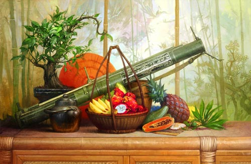 remarkable digital still life artwork