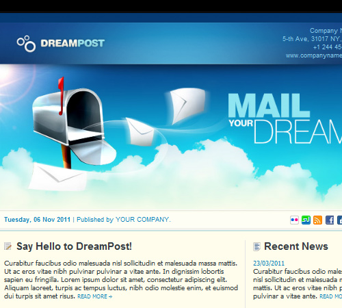 50 email templates to enhance your newsletter s appeal naldz graphics