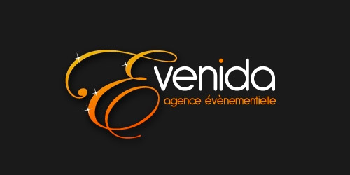 evenida event logo design