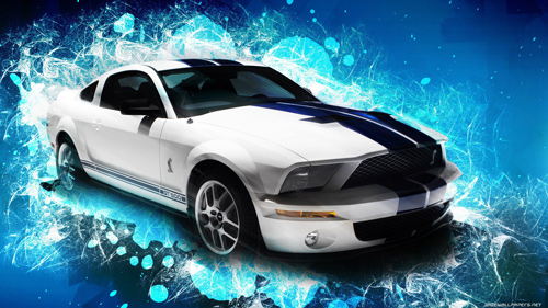 Ford Mustang GT-500 Sports Car