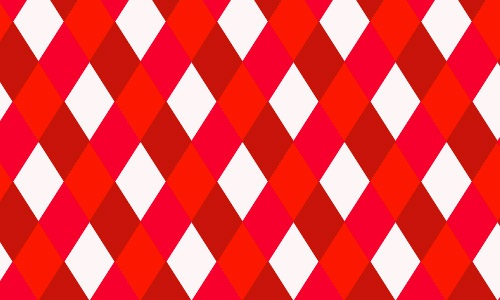 red ribbon pattern