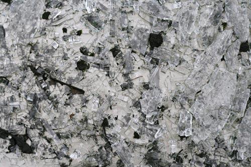 very nice broken glass texture