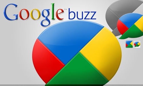 google buzz social icons
