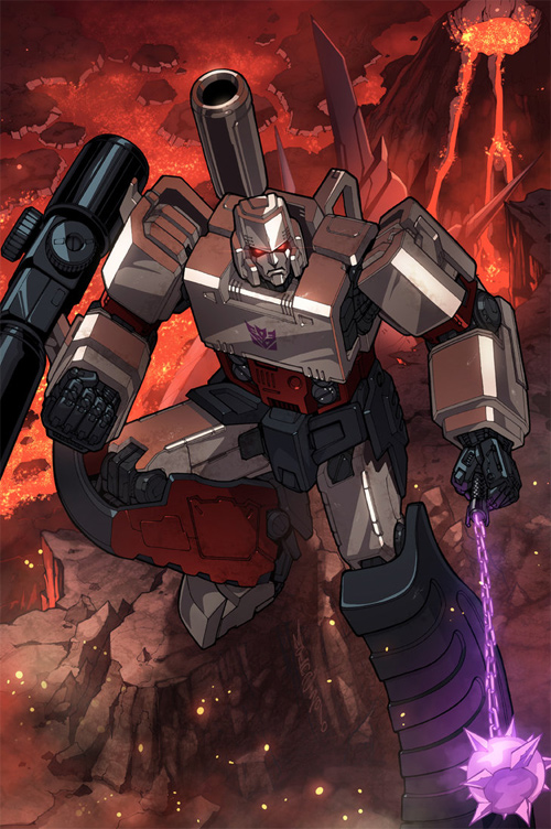 megatron colours