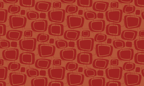 Free Repeat Pattern With A Hot Retro Feel