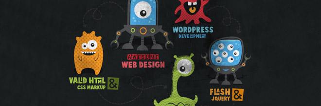 33 New Illustration-Themed Website Designs