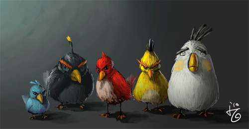 angry birds q