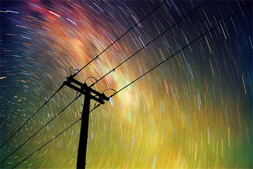 Energy - Film Long Exposure photography