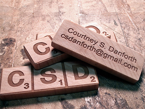 Business Card for: Courtney Danforth