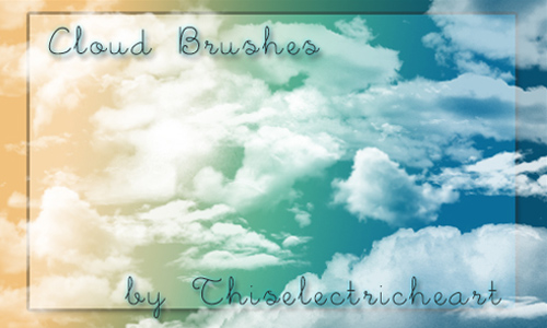 Real Cloud Brushes