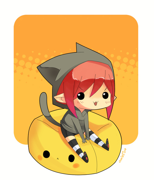 chibi cheu orange