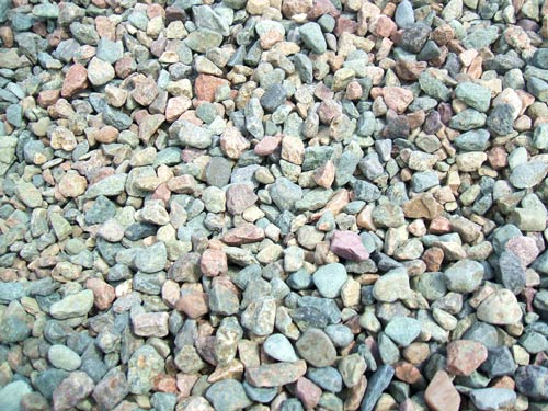 simply colorful pebble texture