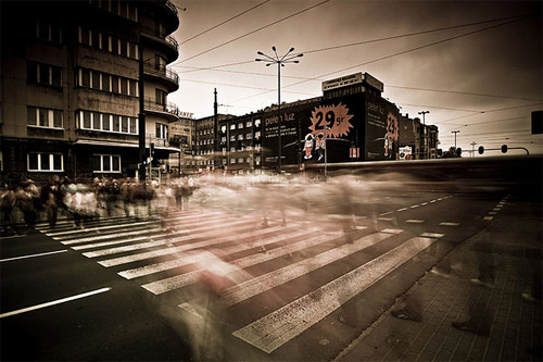 Rush long exposure photography